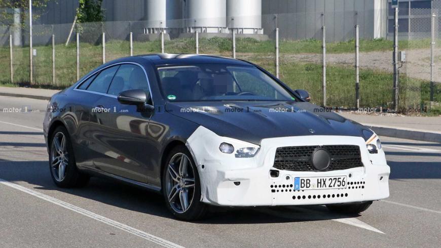 Обновленное купе Mercedes-Benz E-Class заметили на дорогах