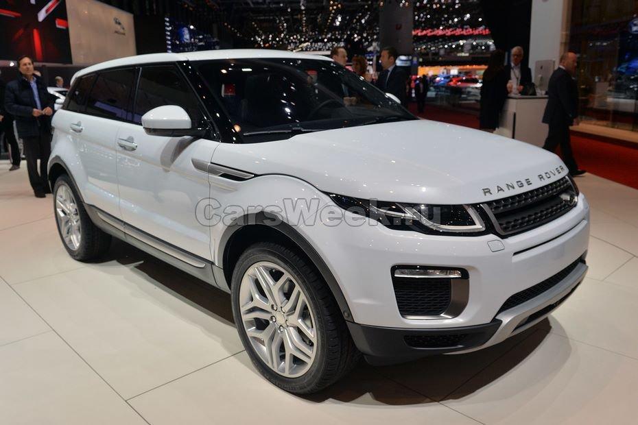 Land Rover поделился сведениями про новые моторы Discovery Sport и Evoque