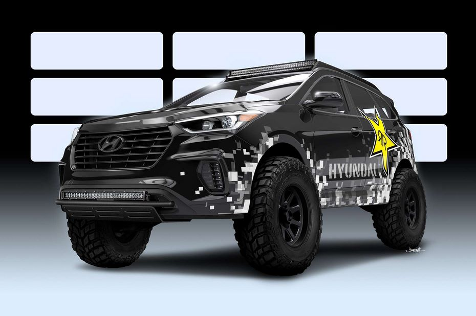 Hyundai представил специальную версию Santa Fe для SEMA