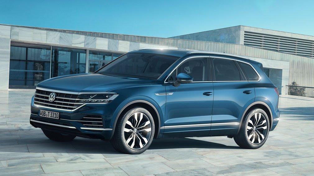 Volkswagen Touareg получил новый мотор в РФ