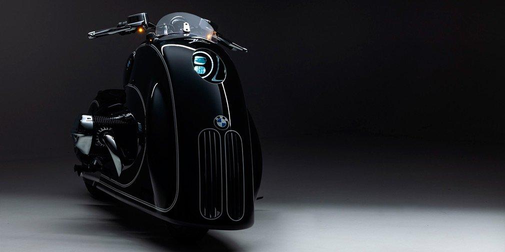 BMW представил мотоцикл с очень большими «ноздрями»