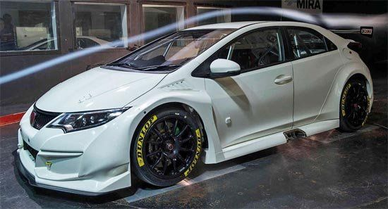 Представлена гоночная модификация Civic Type R