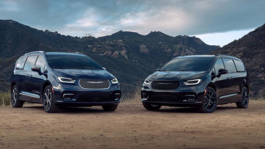 Минивэны Chrysler Voyager и Pacifica дождались обновлений