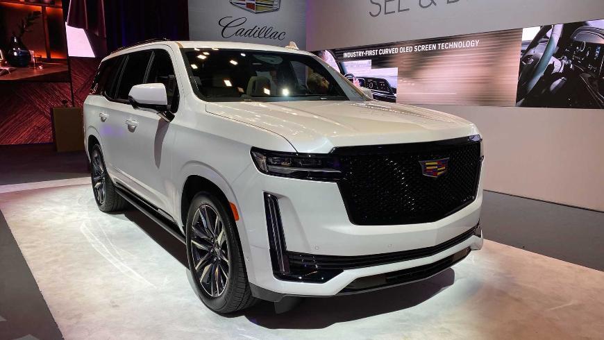 Появилась информация о новом Cadillac Escalade для России
