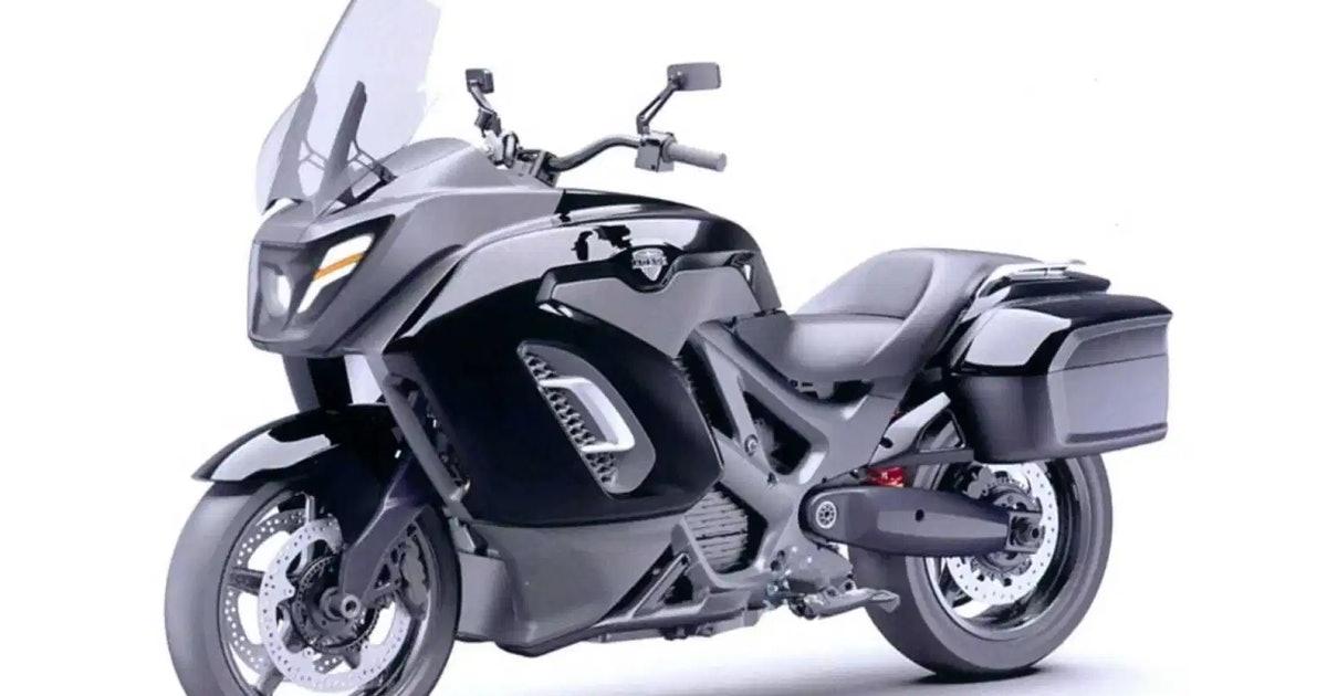 Роскошный бренд Aurus показал свой электрический мотоцикл на видео