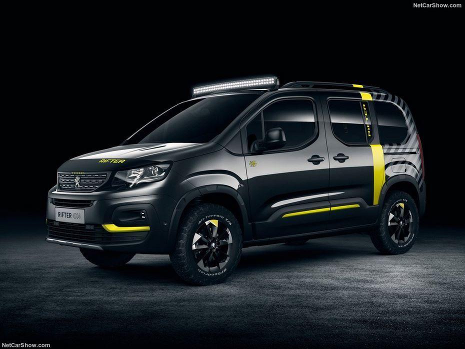 Peugeot Rifter получил экстремальную версию для активного отдыха