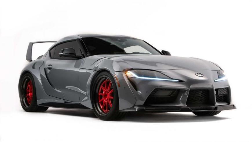 В Лас-Вегасе показали уникальную Toyota GR Supra HyperBoost Edition