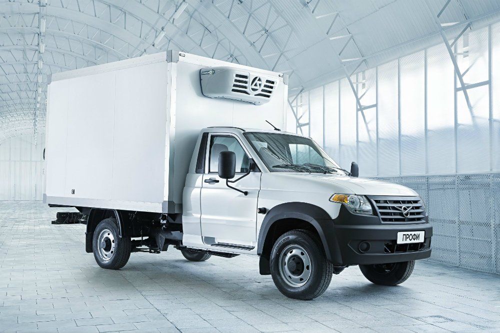 УАЗ представил новую версию грузовика «ПРОФИ»