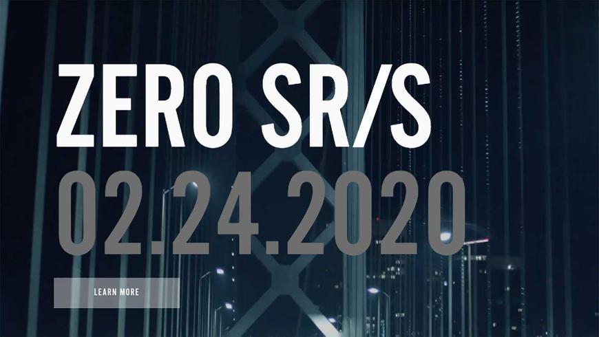 Компания Zero опубликовала тизер на новый электрический мотоцикл SR/S