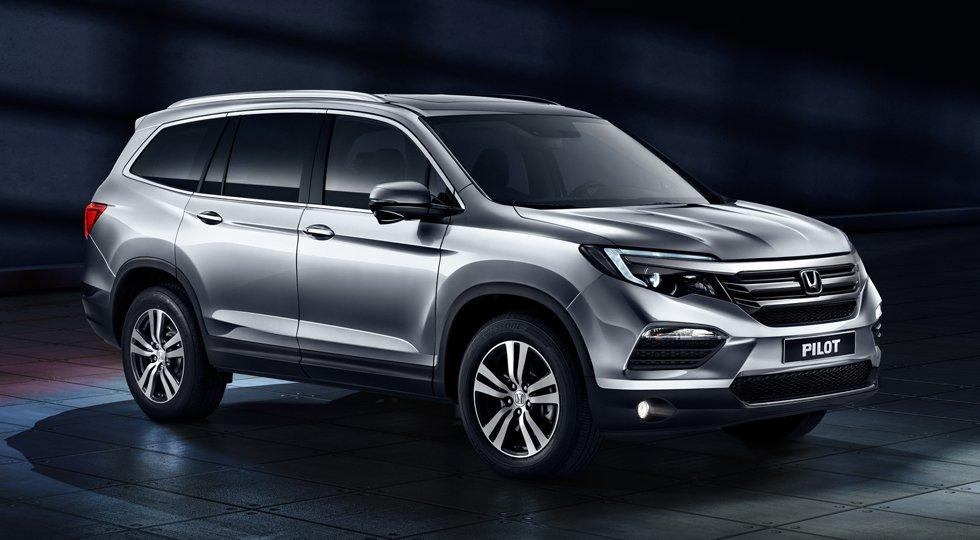 Японская Honda начинает российские продажи кроссовера Honda Pilot 2017