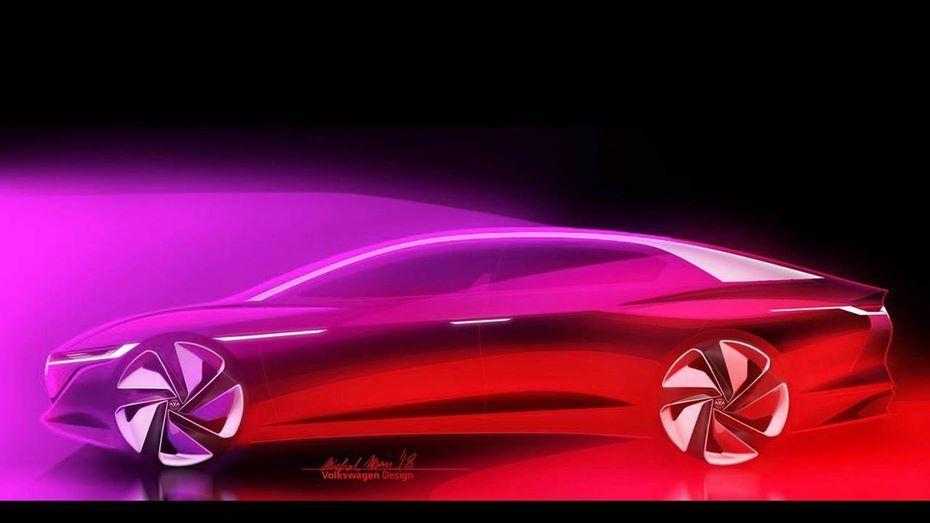 Volkswagen I.D. Vizzion получит голографический интерфейс