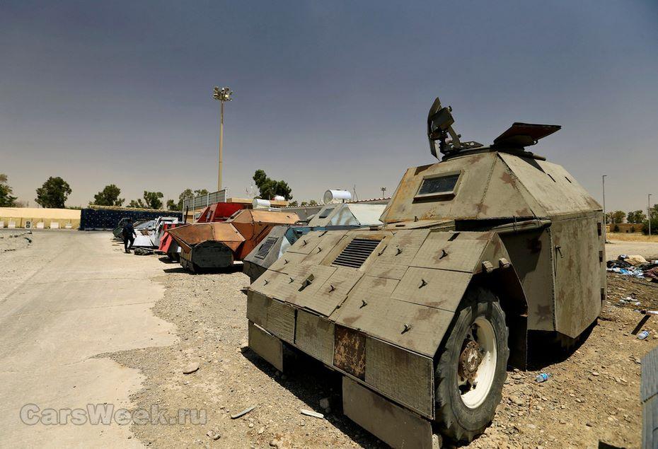 ИГИЛ создал автомобильный парк в стиле Безумного Макса