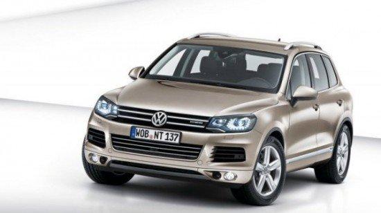Каким мотором оснастят обновлённый Volkswagen Touareg