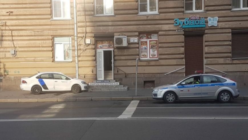 В Санкт-Петербурге очередное ДТП с каршеринг-автомобилем