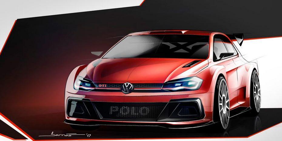 Volkswagen показал раллийный Polo