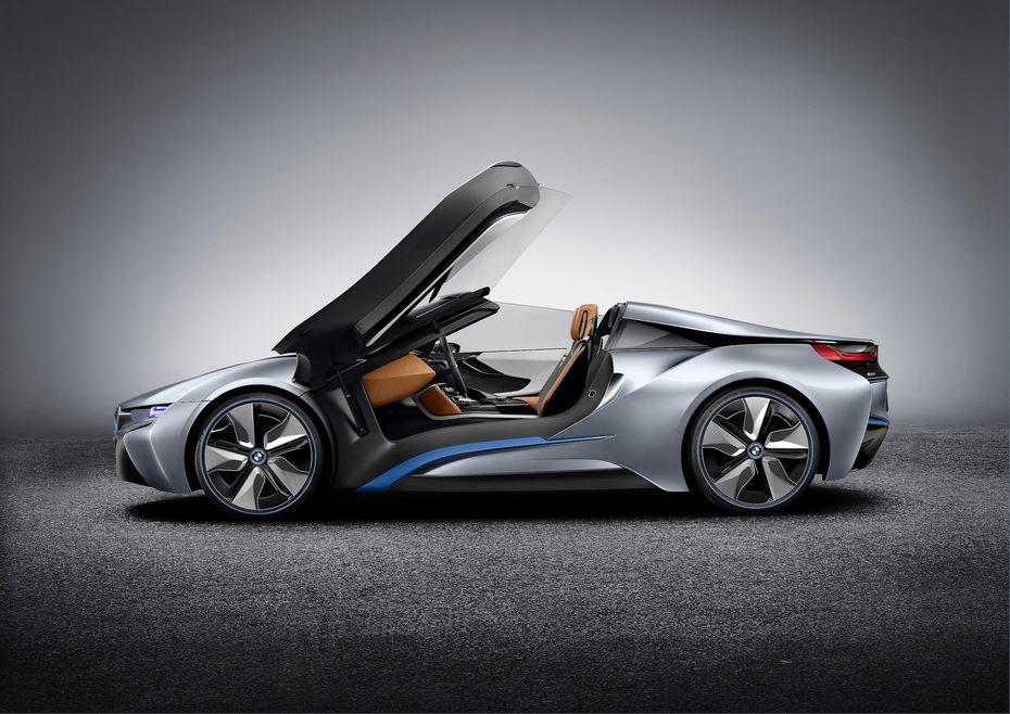 BMW i8 Roadster дебютирует в Лос-Анджелесе
