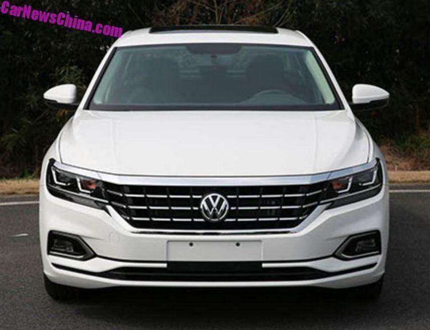 В сети появились фотографии Volkswagen Passat нового поколения