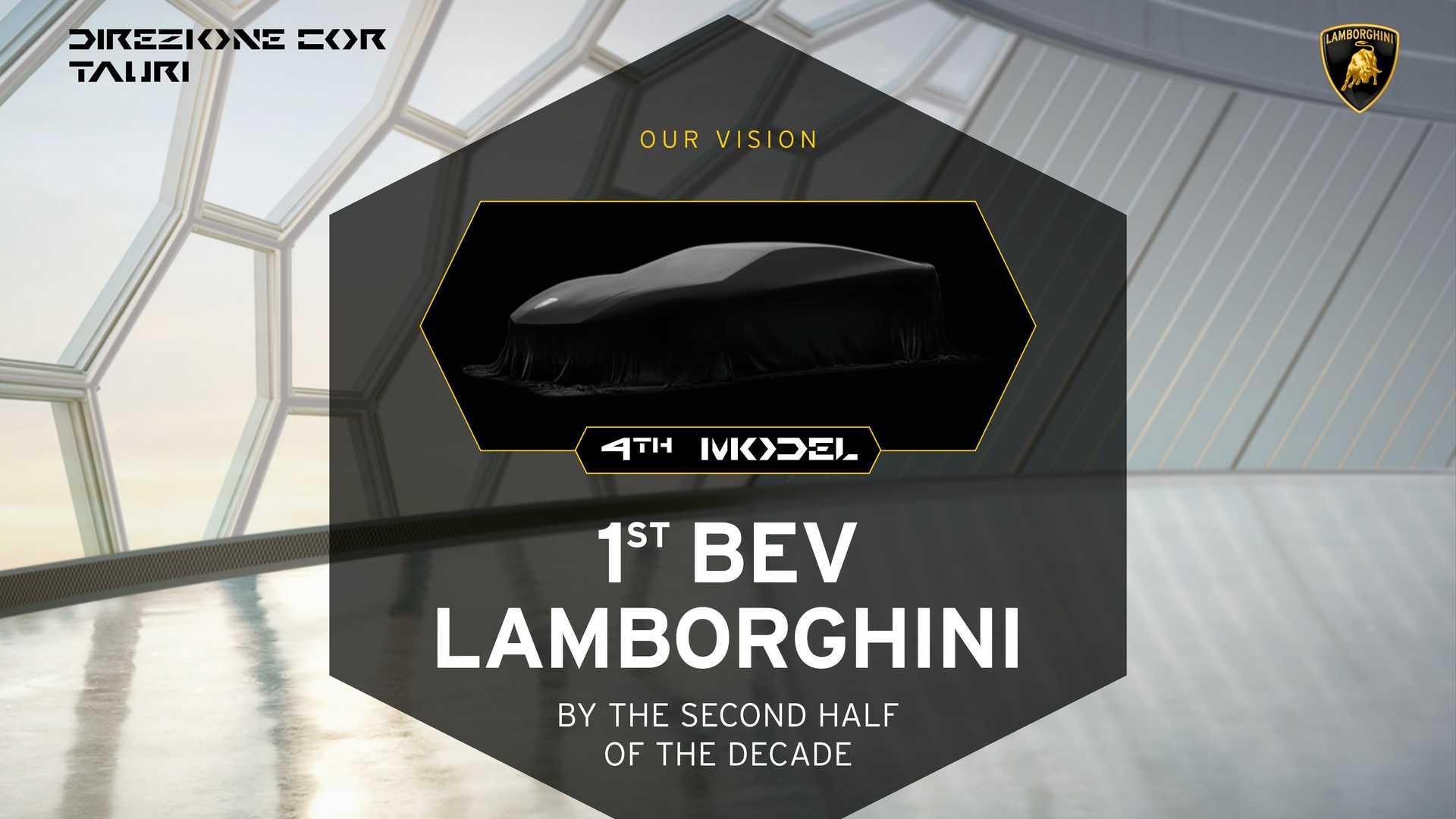 Бренд Lamborghini гибридизирует все свои автомобили к 2024 году