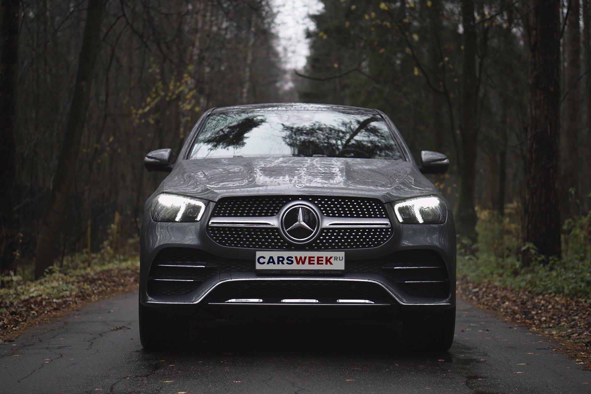 Эстетика: тест Mercedes-Benz GLE 400 d Coupe