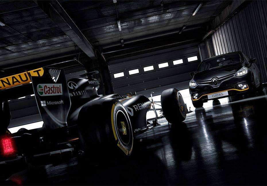 Новая спецверсия Renault Clio RS посвятили не вышедшему болиду Formula-1