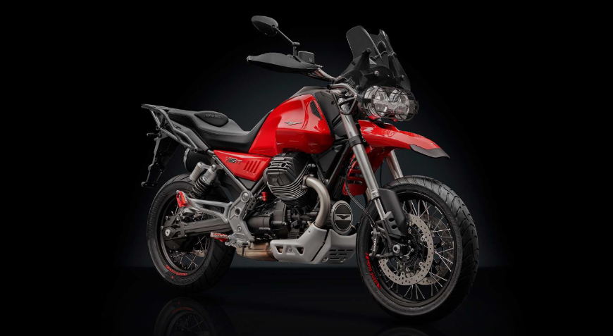 Rizoma выпустила коллекцию аксессуаров для Moto Guzzi V85 TT