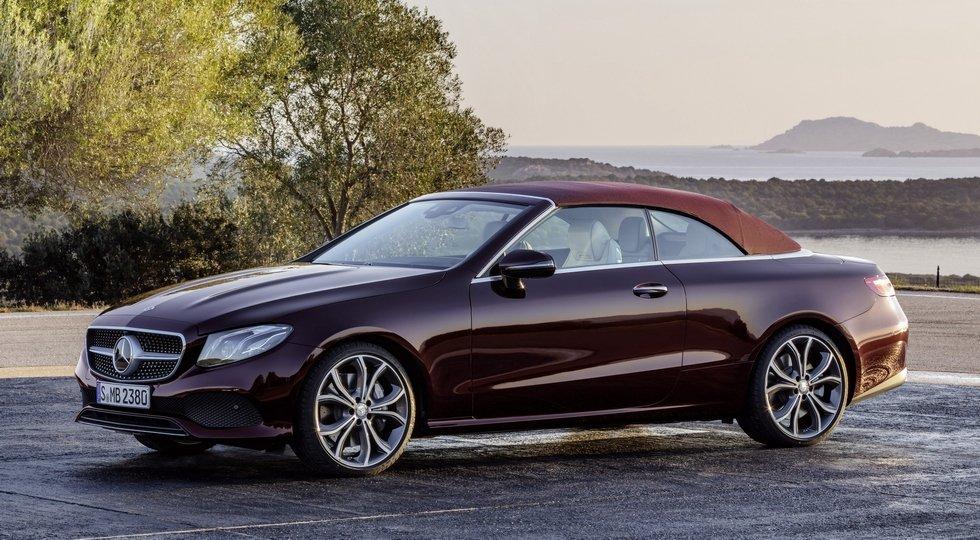 Новый Mercedes E-Class Cabriolet встал наконвейер