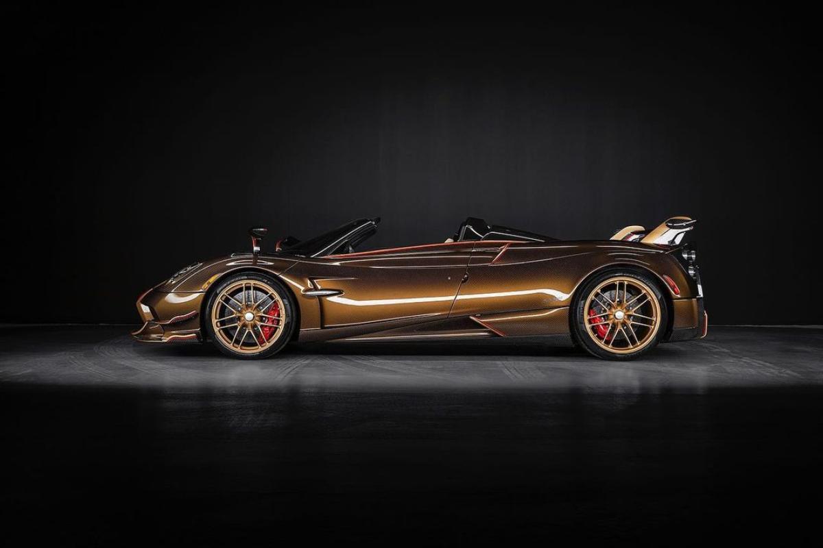 Pagani представил единственную в своем роде версию родстера Huayra Roadster BC