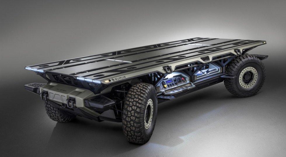 Дженерал моторс создали автономное грузовое шасси SURUS
