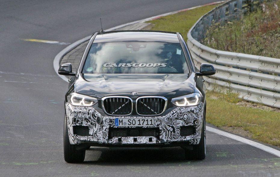 Фотошпионы засняли «заряженный» BMW X3 M практически без камуфляжа
