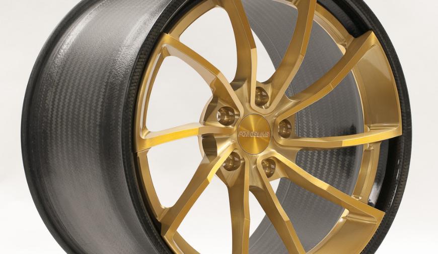 Алюминиево-карбоновые диски от Forgeline за 3 850 $