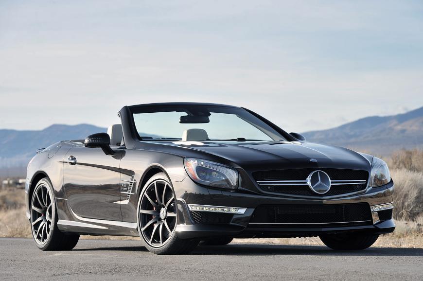 В России завершена реализация родстера Mercedes-Benz SL-класса
