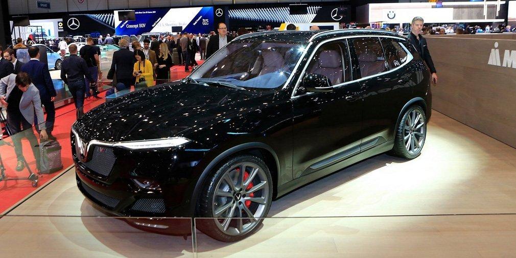 Вьетнамский кроссовер VinFast Lux V8 на базе BMW X5 представлен официально