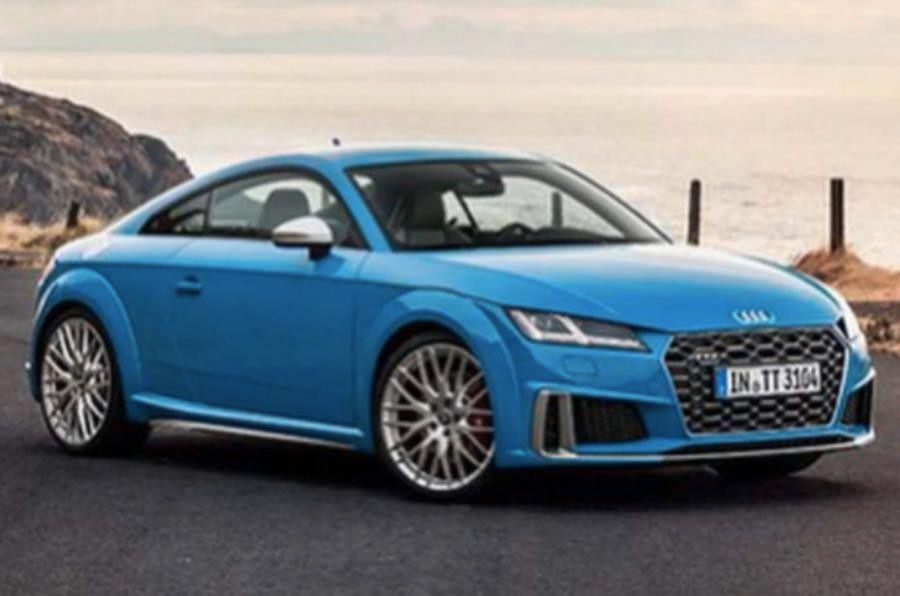 Новая версия Audi TT полностью рассекречено в сети