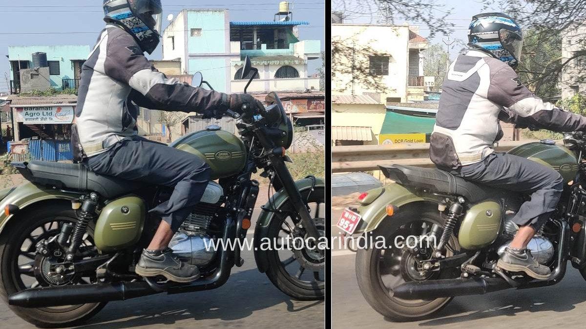 Обновленный мотоцикл Jawa 42 замечен на испытаниях