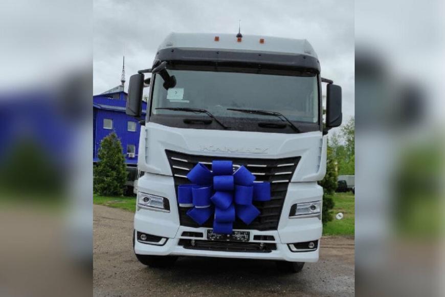 КамАЗ продал в Европе первый премиум-тягач семейства К5