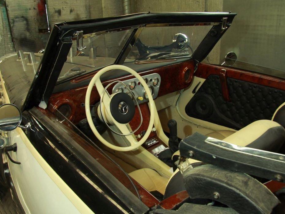 «Сборная солянка»: энтузиаст реализует самодельный кабриолет за28.600 долл ...