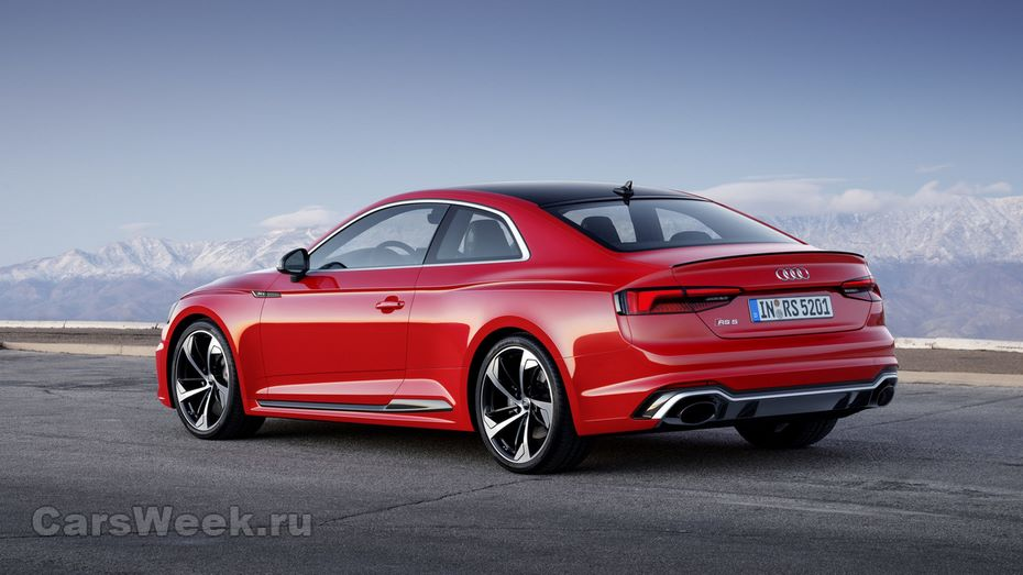 Новый Ауди RS5 Coupe вывели на испытания надорогах воФранции