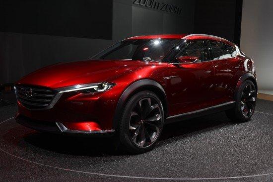 Mazda приподняла завесу тайны со своего нового кроссовера Koeru