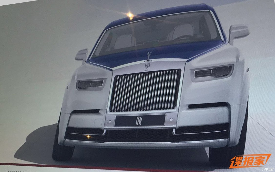 Вглобальной паутине появилось фотореалистичное изображение Роллс Ройс Phantom 2050 года