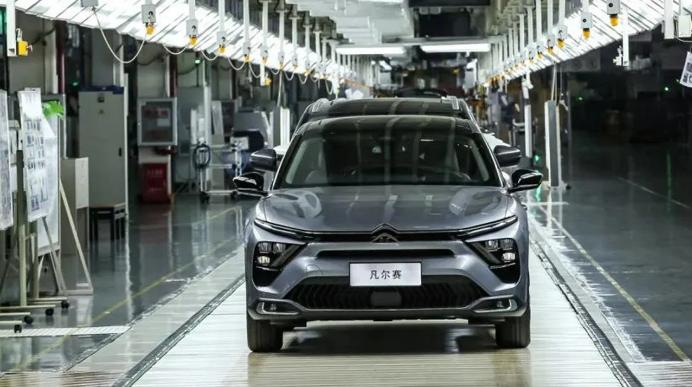 Новый Citroen C5 X начали собирать на китайском заводе
