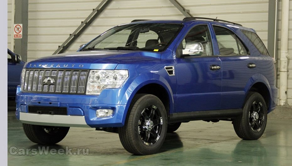 Kawei в«Поднебесной» выпустила джип W1, схожий на Форд F-150