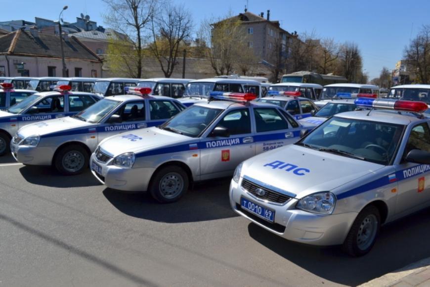В Тверской области полицию и дорожные службы обеспечат новыми автомобилями