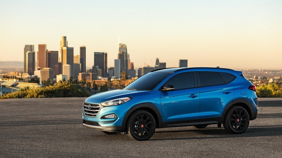ВСША стартовали официальные продажи Хёндай Tucson 2018 модельного года