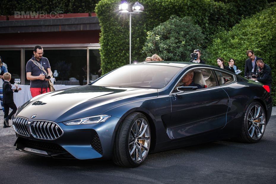 БМВ начнет производство 8-Series в следующем 2018г.
