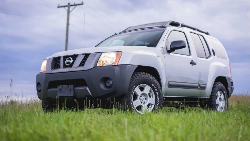 На аукцион выставлен внедорожник Nissan Xterra с мотором V8 GM