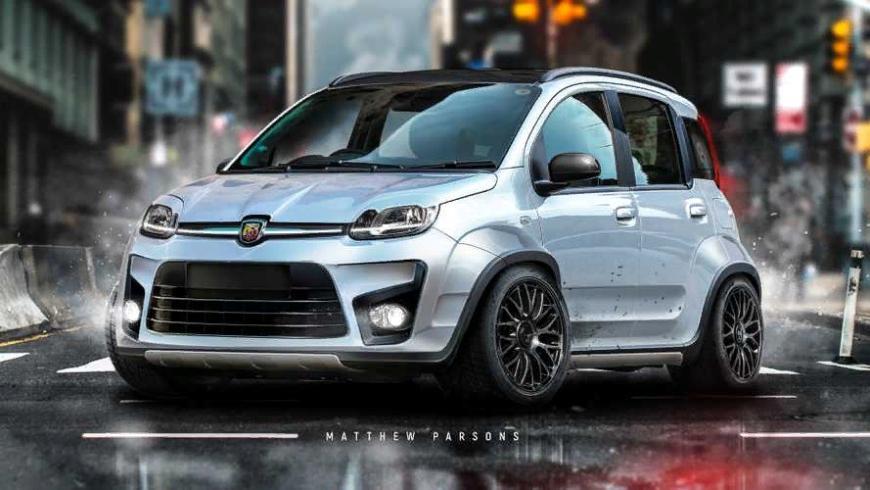 Представлена «злая» версия городского малыша Fiat Panda
