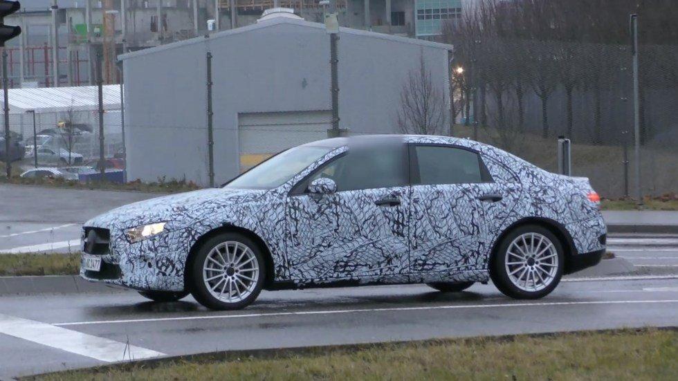 Седан Mercedes-Benz A-Class показался на видео