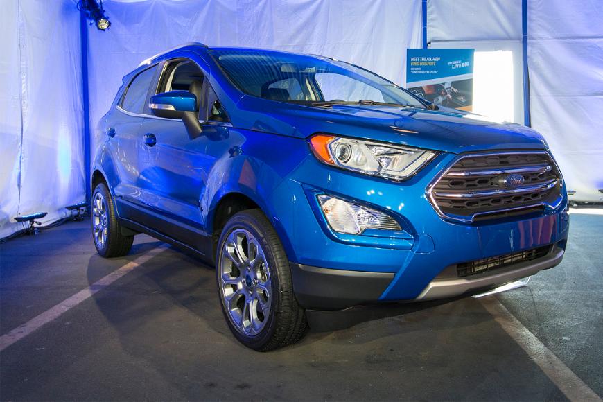 В Челнах стартовало серийное производство обновлённого Ford EcoSport