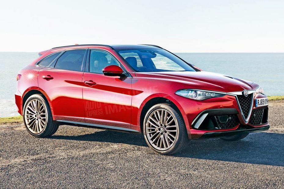 Новый флагманский кроссовер Alfa Romeo получит 400 сильный гибрид