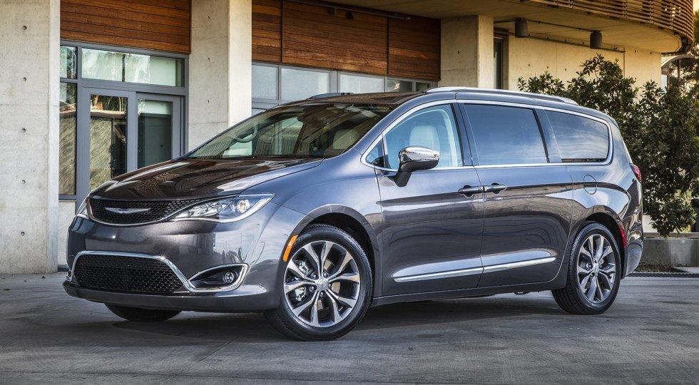 Chrysler выведет на русский рынок минивэн Pacifica
